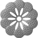 код. 50.049 Квітка кована Розміри: HхL Ø95 мм