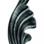 код. 51.059 Лист кований Розміри:HхL 190х65 мм Товщина 2.5 мм