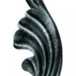 код. 51.060 Лист кований Розміри:HхL 190х65 мм Товщина 2,5