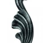 код. 51.062 Лист кований Розміри:HхL 110х40 мм  Товщина 2,5