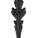 код. 51.104 Лист кований Розміри: 300х70 мм Товщина 4 мм