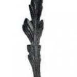 код. 51.105 Лист кований Розміри: 275х50 мм Товщина 4 мм
