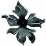 код. 52.130 Квітка кована  Розміри: Ø 160 мм Товщина 4 мм