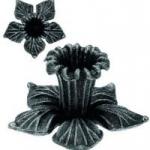 код. 52.131 Квітка  кована Розмір: HхL 90х60 мм